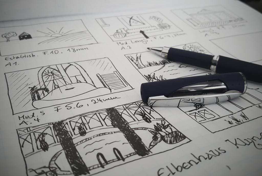 Storyboard Konzept Planung
