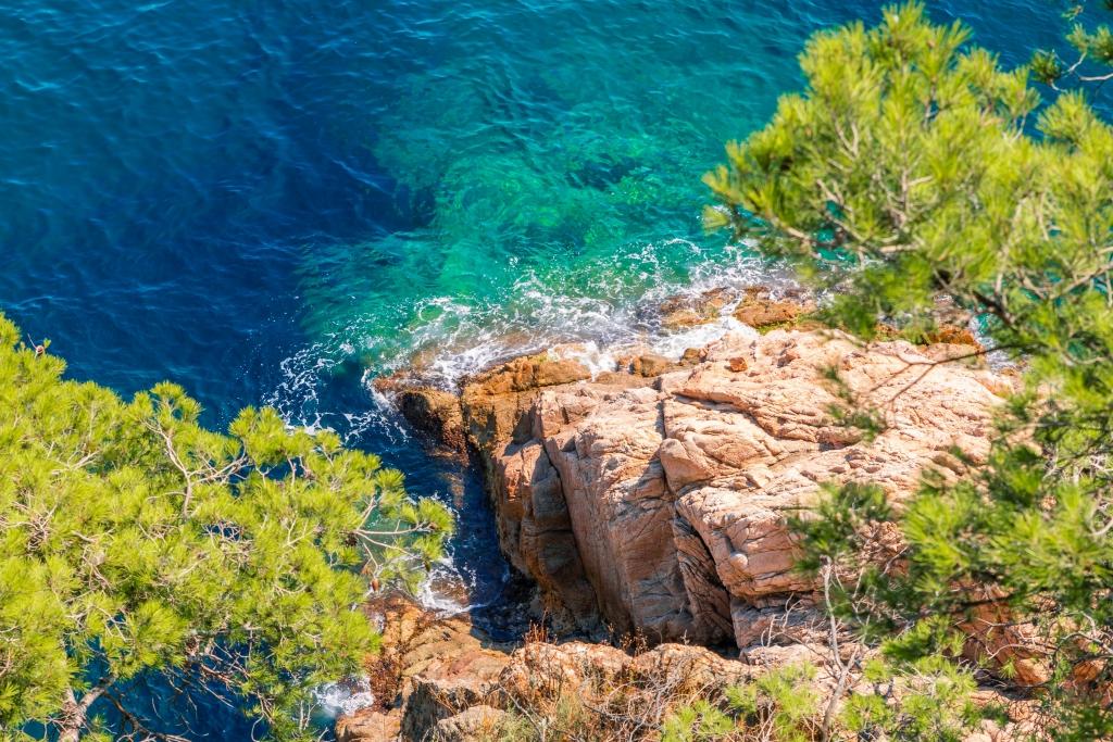 spain mediterranean küste