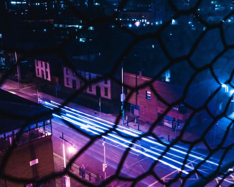 Dublin Irland Nacht longexposure
