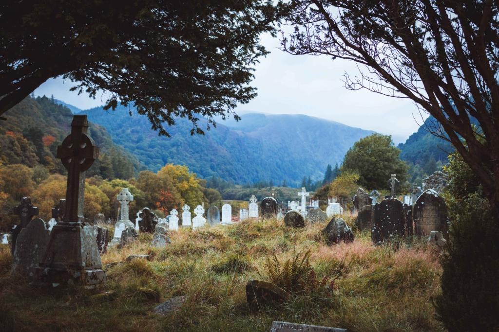 irish graveyard